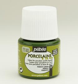 Pebeo porcelaine verf  kleur 30 Peridot green