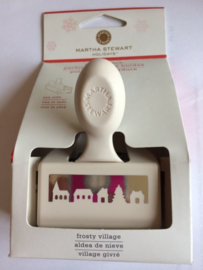 Martha Stewart rand pons Frosty village art.M28411