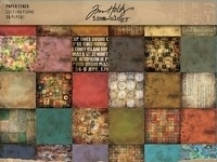 Tim Holtz paper block  Lost and Found 30,5x 30,5