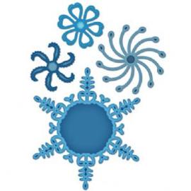 Spelbinder S5-054 snow flake pendant
