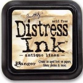 Distress Inkt Tim Holtz - Ranger  Art.  Krs. 0601  Antiek Linnen
