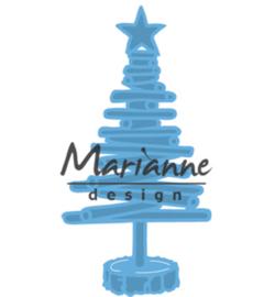 Marianne Design Tiny's Christmas tree wood LR0492