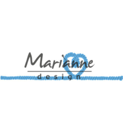 Marianne Design Rope with heart LR0506