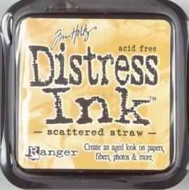 Distress Inkt Tim Holtz - Ranger   Art.  Krs. 0622  Scattered  Straw