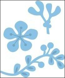 Marianne   design creatable   LR0189 Mistletoe in onze winkel aanwezig,