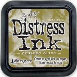 Distress Inkt Tim Holtz - Ranger   Art.  Krs. 0628 Crushed Olive