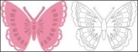 Collectables Snijden embossen en stempelen art. KP 1317 vlinder