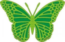 CLD snij en embossingsmal    jal. art. CLD 116  exotic  medium   butterfly    voorraad 1x