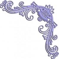 CLD snij en embossingsmal    jal. art. CLD 151  Romantic Flourish voorraad  2