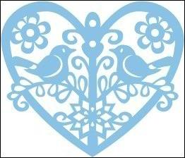 Marianne   design creatable   LR0186 Winter Birds . in onze winkel aanwezig, bestellen/voororderen 10% korting