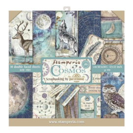 Stamperia paper pad Cosmos 30,5x30,5cm art. SBBL56
