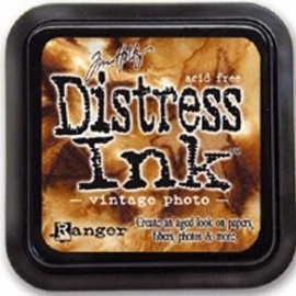 Distress Inkt Tim Holtz - Ranger   Art.  Krs. 0605 Vintage Photo
