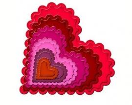 Spellbinder Classic Scalloped Heart art. s4-137