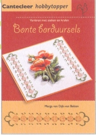 Hobby Topper jal. art.72904-075  Bonte borduursels  5% Korting