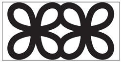 EK succes Large Chain edge punch Chinese Knot  Chain all. art.54-50018  voorraad 1x