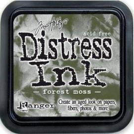 Distress Inkt Tim Holtz - Ranger   Art.  Krs. 0629 Forrest Moss