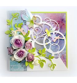 Joy Crafts no endles bubbles art 6002/1084