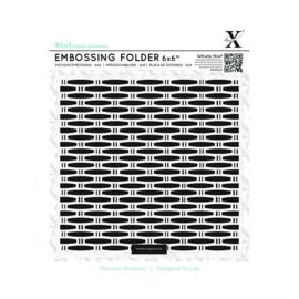 C Cut embossingfolder Wicker art.XCU 515174