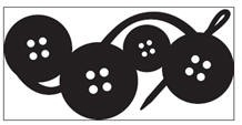 EK succes Large Chain edge punch Button all. art.54-50019  voorraad 2x