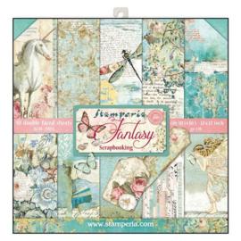 Stamperia paper pad Fantasy 30,5x30,5cm art. SBBL38