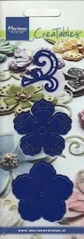 Creatable Marianne Design Ribbon flower 1   art.  LR 0108