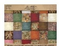 Tim Holtz paper block  Sesonal 30,5x 30,5