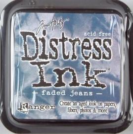 Distress Inkt Tim Holtz - Ranger   Art.  Krs. 0613  Faded Jeans