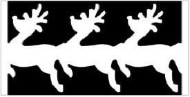EK succes Large Chain punch   Reindeer  Chain all. art.54-50012 voorraad 2x