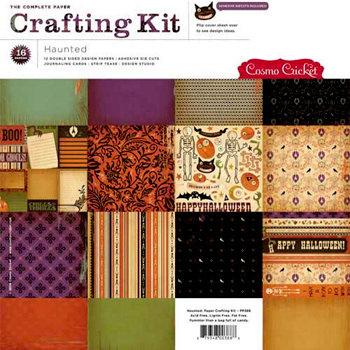 Cosmo Criket Crafting kit Haunted art PP388 nog maar 1 daarna niet meer te bestellen!