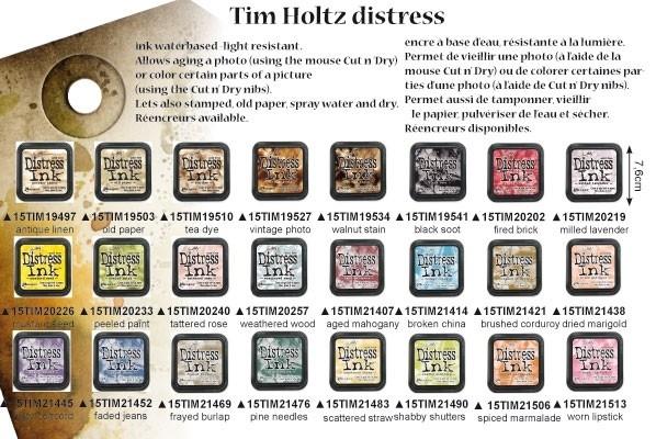Kleurenschema Destress inkt