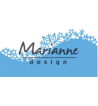 Marianne Design Border: Ice crystals LR0486