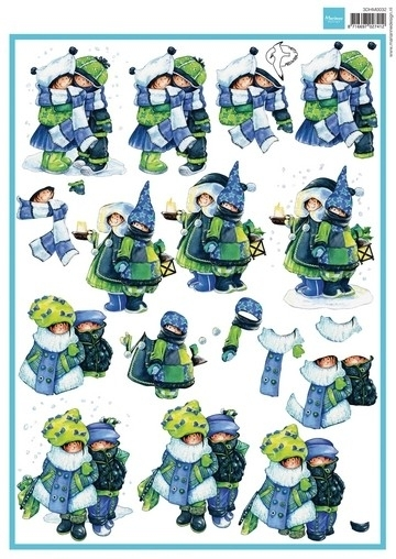 Marianne design art. 3d HM032 Snoesjes