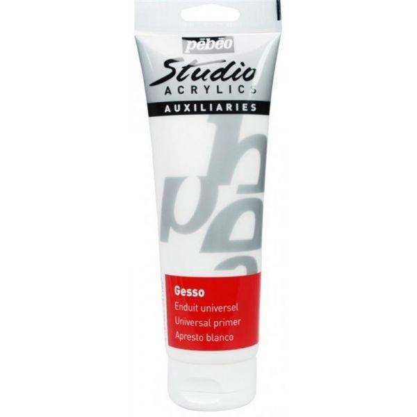 Pebeo Studio acrylics Gesso wit 250 ML