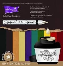 Color Core Cardstock Graphic 45 op voorraad