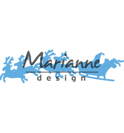 Marianne Design Santa is coming LR0495