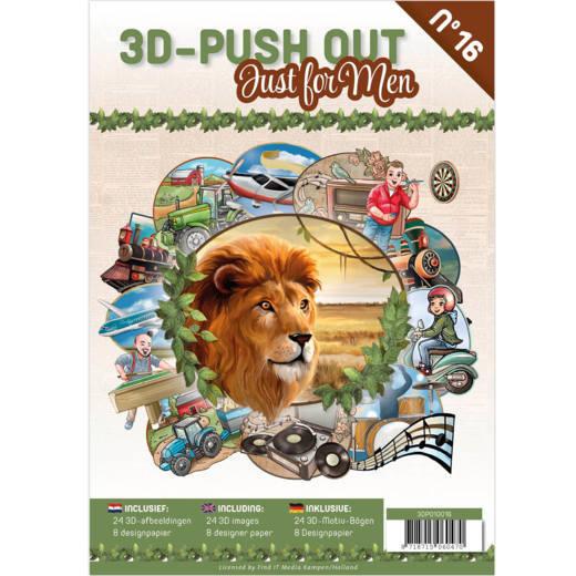 3-D Push out no 16 art. 3DPO10016 Just foir Men