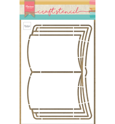 Marianne design craft stencil art. OS 8061