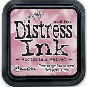 Distress Inkt Tim Holtz - Ranger   Art.  Krs. 0635  Victorian Velvet
