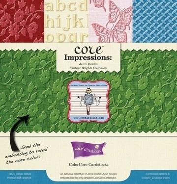Core   Impression  Color Core Vintage Cardstock       30,5x30,5 op voorraad