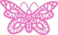 CLD snij en embossingsmal  Oriantal Butterfly Doily  jal. art. CLD 105 voorraad 2x