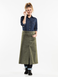 Sloof 4-pockets Denim Green