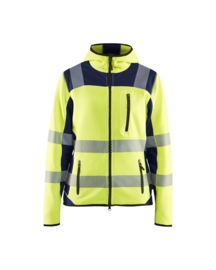 Dames HighVis Vest Gebreid