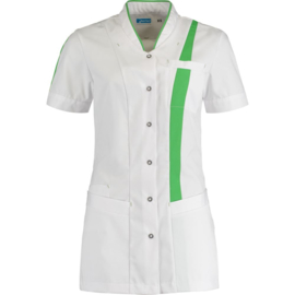 Dames Tuniek Lara Wit/Fashion Groen