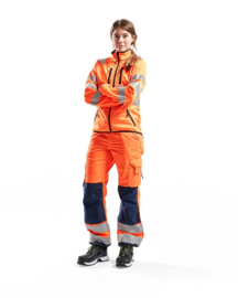 Dames HighVis Softshell Jack