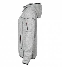 Dames gebreid fleece vest 0853