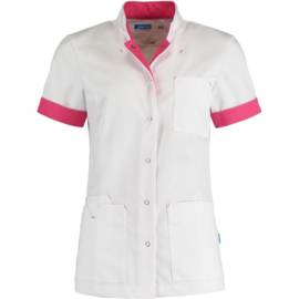 Dames Tuniek Jillian Wit/Fuchsia
