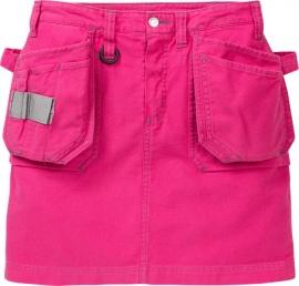 Dames Werk Rok Pink
