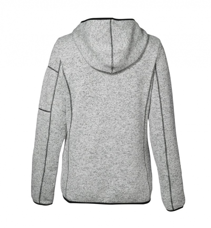 Dames gebreid fleece vest 0853 | Dames Sweaters&Vesten