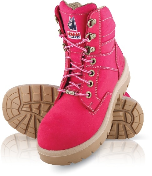 Dames Veiligheidsschoen Southern Cross Pink S3