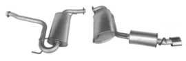 Complete uitlaat Alfa GTV 2.0I/3.0I 16V/V6 Twin Spark/Turbo 02/2002 - 04/2005 - 1995 (2193)